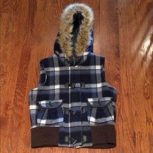 Old Navy Flannel Vest